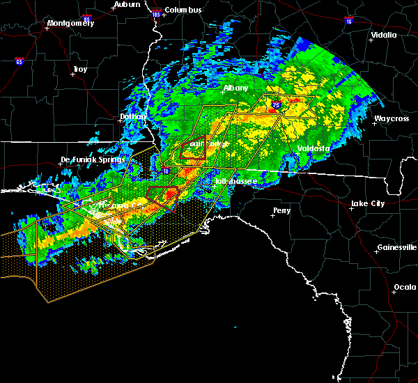 Radar Image for Severe Thunderstorms near Tallahassee, FL at 3/3/2019 7:47 PM EST