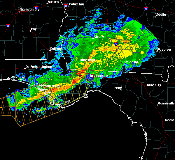 Radar Image for Severe Thunderstorms near Tallahassee, FL at 3/3/2019 7:53 PM EST