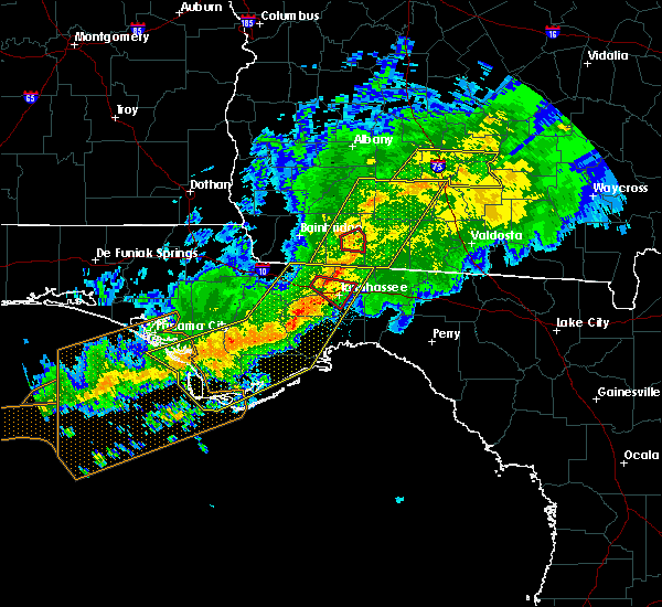Radar Image for Severe Thunderstorms near Tallahassee, FL at 3/3/2019 8:06 PM EST