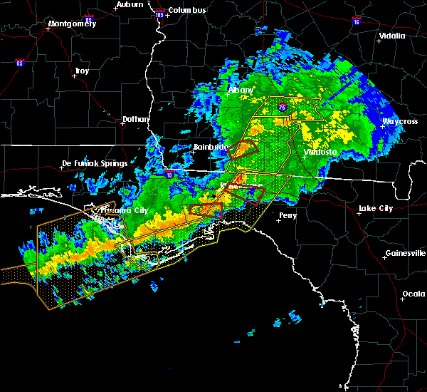 Radar Image for Severe Thunderstorms near Tallahassee, FL at 3/3/2019 8:21 PM EST