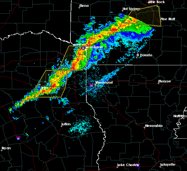 Radar Image for Severe Thunderstorms near Queen City, TX at 3/9/2019 10:19 AM CST