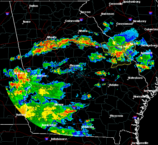 Radar Image for Severe Thunderstorms near Woodville, GA at 6/9/2015 4:39 PM EDT