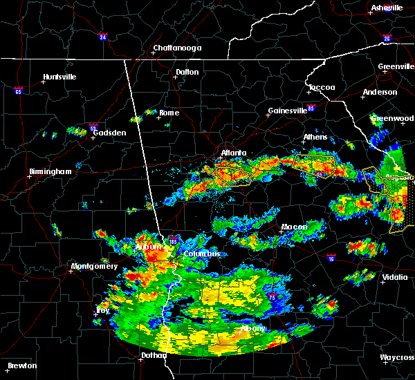 Radar Image for Severe Thunderstorms near Atlanta, GA at 6/9/2015 4:40 PM EDT