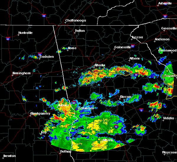Radar Image for Severe Thunderstorms near Rutledge, GA at 6/9/2015 4:45 PM EDT