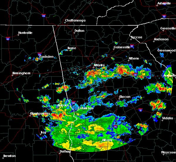 Radar Image for Severe Thunderstorms near Rutledge, GA at 6/9/2015 5:11 PM EDT