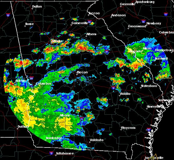 Radar Image for Severe Thunderstorms near Rutledge, GA at 6/9/2015 5:22 PM EDT