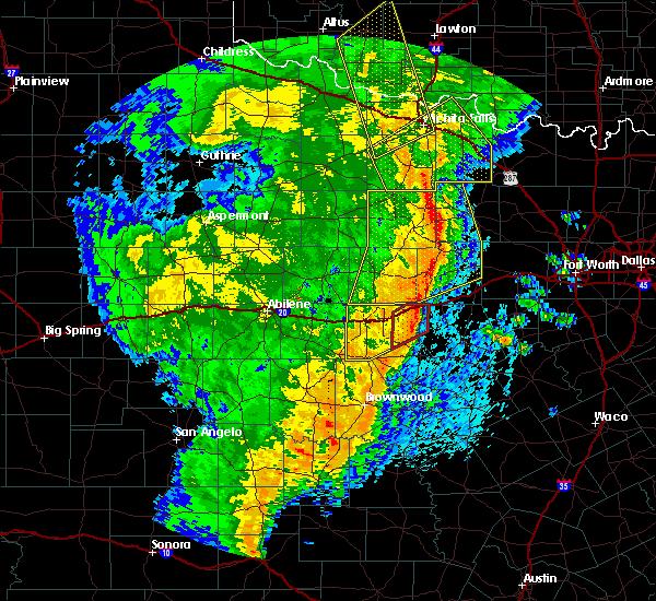 Radar Image for Severe Thunderstorms near Gorman, TX at 3/13/2019 3:07 AM CDT