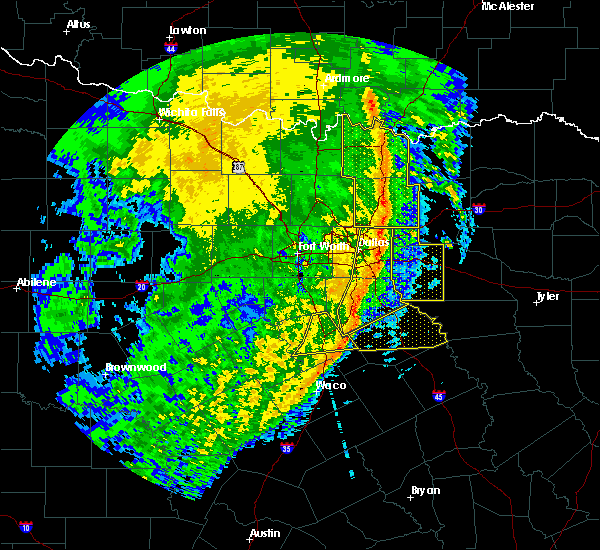 Radar Image for Severe Thunderstorms near Sachse, TX at 3/13/2019 5:31 AM CDT