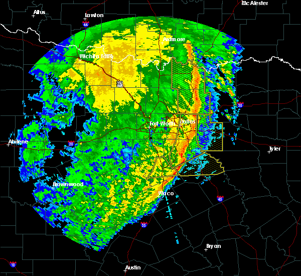 Radar Image for Severe Thunderstorms near Sachse, TX at 3/13/2019 5:34 AM CDT