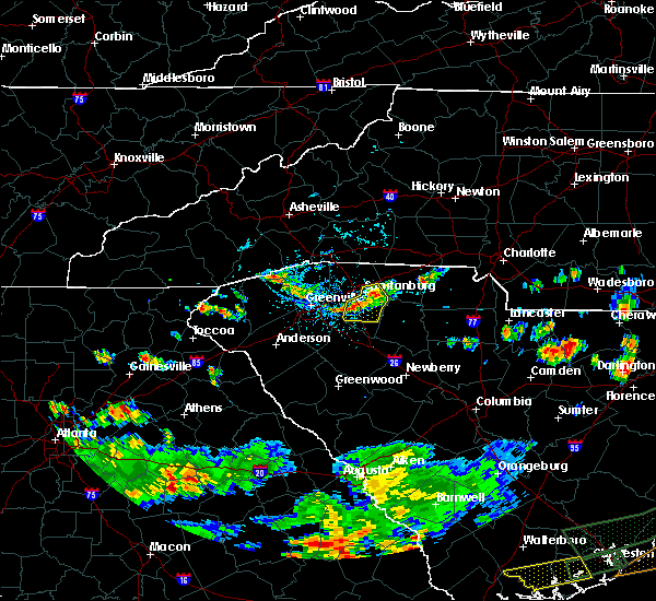 Radar Image for Severe Thunderstorms near Rosman, NC at 6/9/2015 5:59 PM EDT