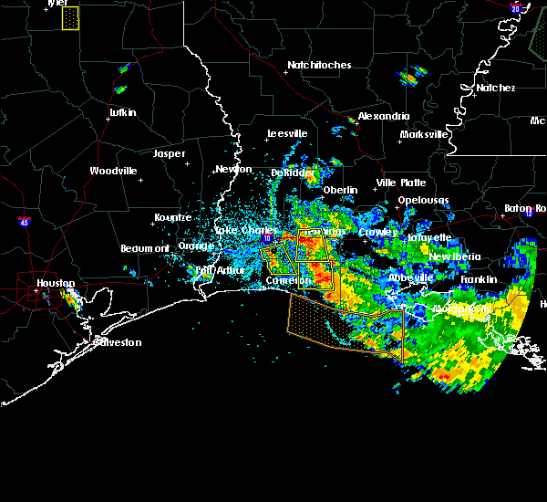 Radar Image for Severe Thunderstorms near Lake Charles, LA at 6/9/2015 5:04 PM CDT