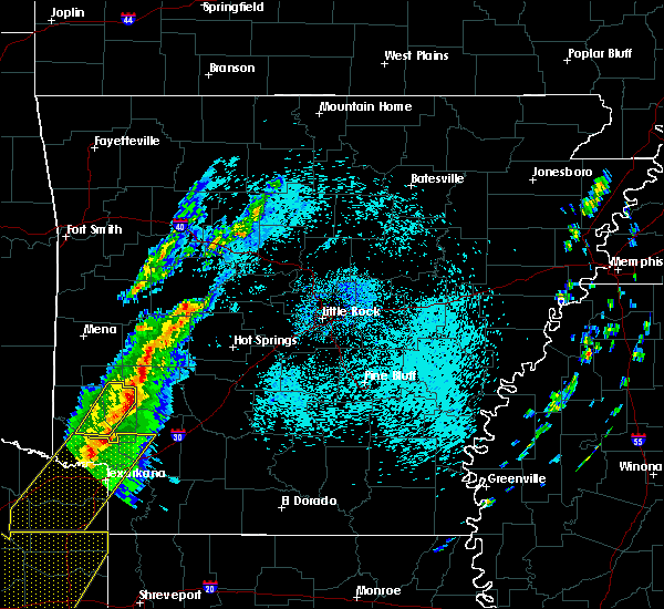 Radar Image for Severe Thunderstorms near Tollette, AR at 3/14/2019 3:00 AM CDT