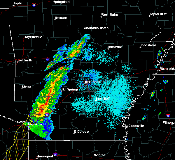 Radar Image for Severe Thunderstorms near Emmet, AR at 3/14/2019 3:28 AM CDT