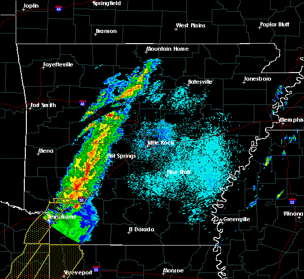 Radar Image for Severe Thunderstorms near Emmet, AR at 3/14/2019 3:31 AM CDT