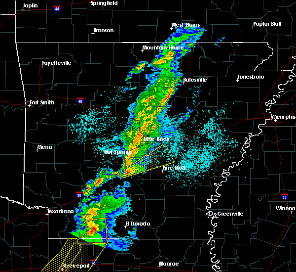 Radar Image for Severe Thunderstorms near Woodson, AR at 3/14/2019 4:33 AM CDT