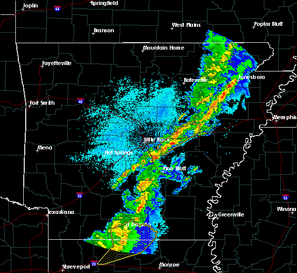 Radar Image for Severe Thunderstorms near Carlisle, AR at 3/14/2019 5:40 AM CDT