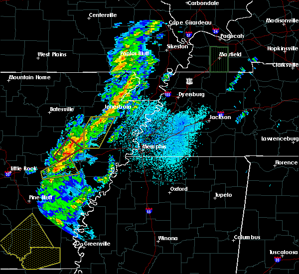 Radar Image for Severe Thunderstorms near Rector, AR at 3/14/2019 6:24 AM CDT