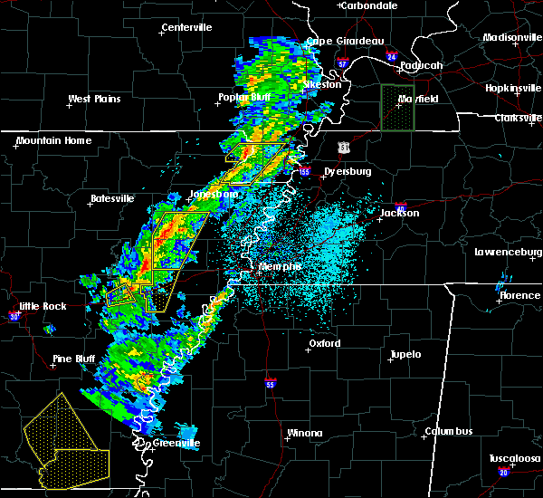Radar Image for Severe Thunderstorms near Waldenburg, AR at 3/14/2019 6:46 AM CDT