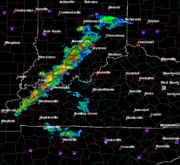 Radar Image for Severe Thunderstorms near Orleans, IN at 3/14/2019 1:44 PM EDT
