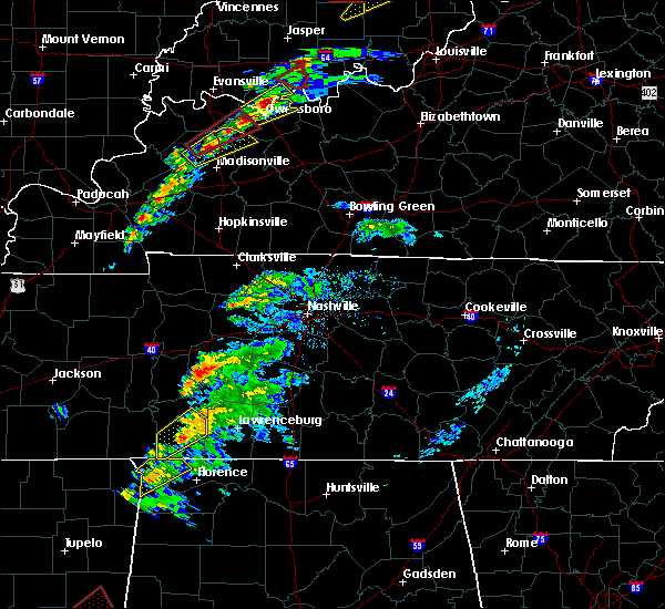 Radar Image for Severe Thunderstorms near Collinwood, TN at 3/14/2019 1:16 PM CDT