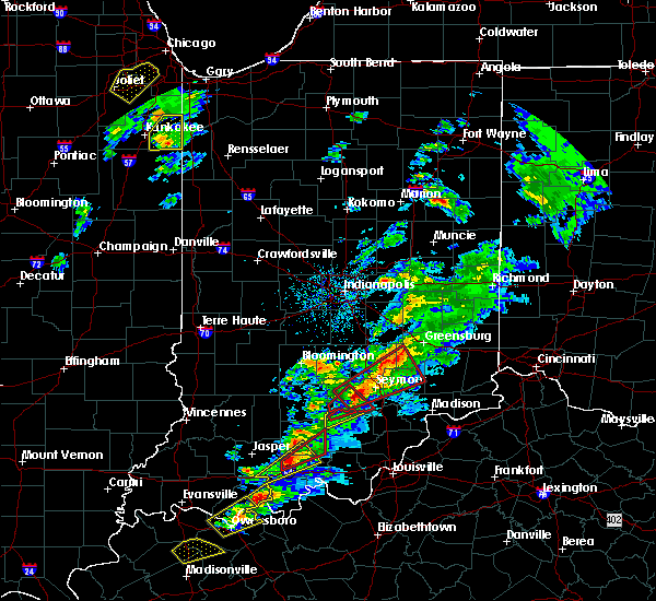 Radar Image for Severe Thunderstorms near Seymour, IN at 3/14/2019 2:32 PM EDT