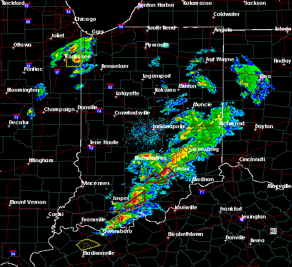 Radar Image for Severe Thunderstorms near Seymour, IN at 3/14/2019 2:38 PM EDT