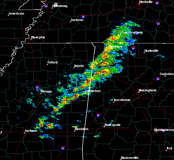 Radar Image for Severe Thunderstorms near Russellville, AL at 3/14/2019 2:00 PM CDT