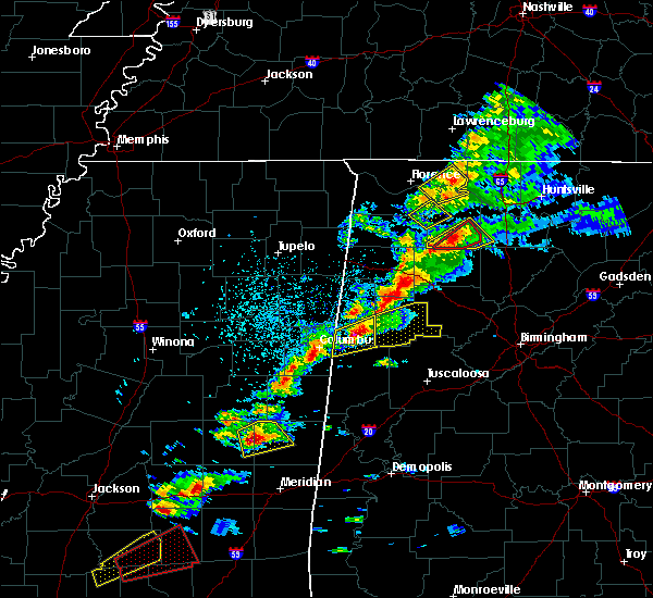 Radar Image for Severe Thunderstorms near Littleville, AL at 3/14/2019 2:44 PM CDT