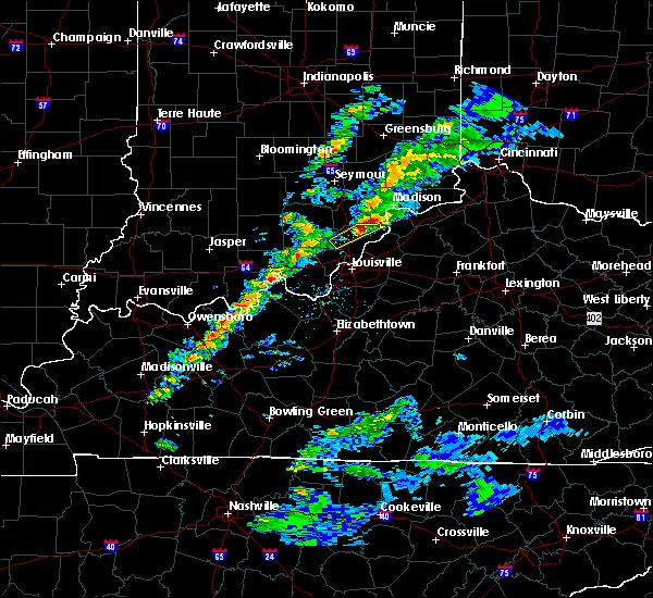 Radar Image for Severe Thunderstorms near New Washington, IN at 3/14/2019 4:09 PM EDT