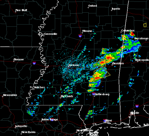 Radar Image for Severe Thunderstorms near Decatur, MS at 3/14/2019 3:41 PM CDT