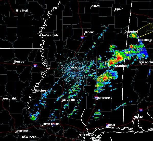 Radar Image for Severe Thunderstorms near Lauderdale, MS at 3/14/2019 4:01 PM CDT