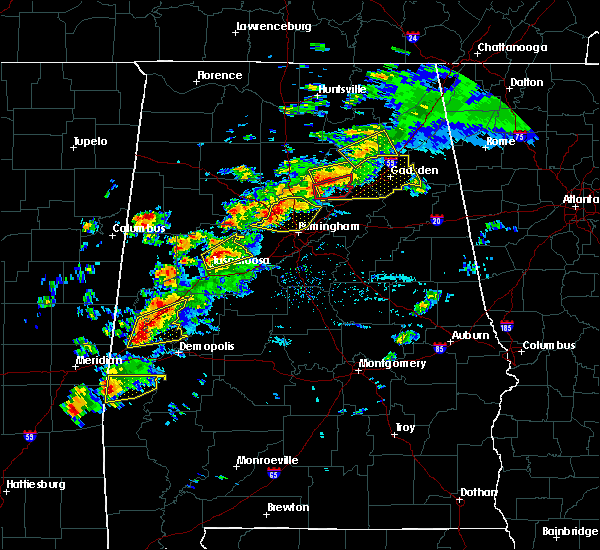 Radar Image for Severe Thunderstorms near Cleveland, AL at 3/14/2019 5:11 PM CDT