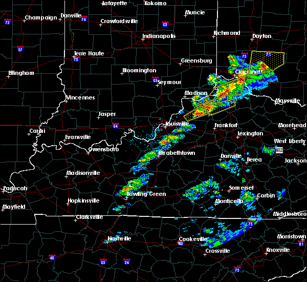 Radar Image for Severe Thunderstorms near Verona, KY at 3/14/2019 6:37 PM EDT