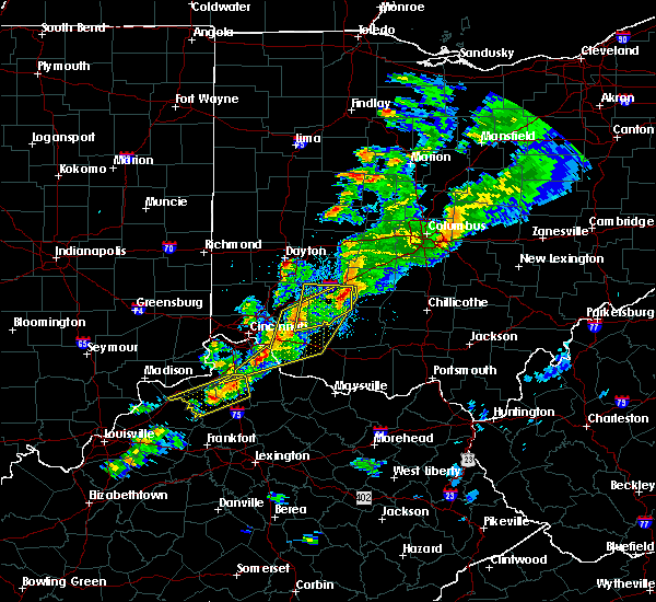 Radar Image for Severe Thunderstorms near Pleasant Plain, OH at 3/14/2019 6:58 PM EDT