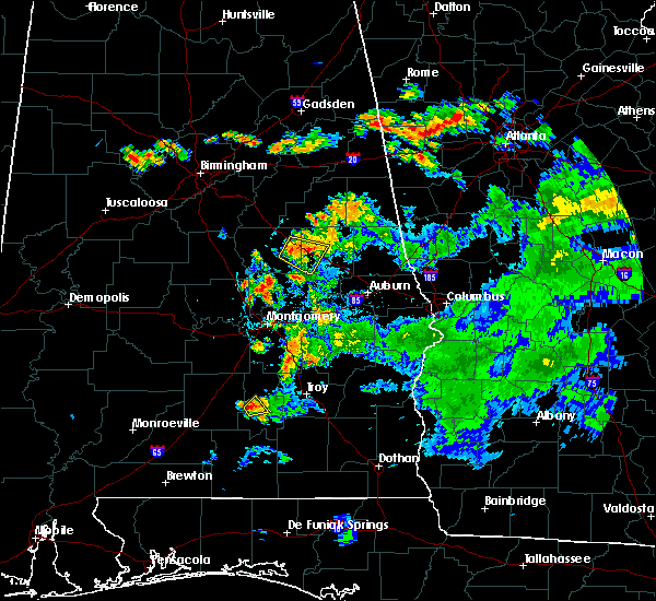 Radar Image for Severe Thunderstorms near Hissop, AL at 6/9/2015 6:10 PM CDT