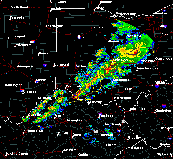 Radar Image for Severe Thunderstorms near Neville, OH at 3/14/2019 7:33 PM EDT