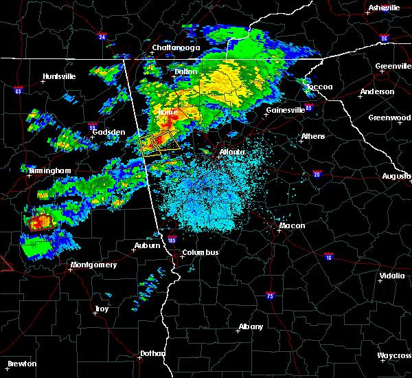 Radar Image for Severe Thunderstorms near Braswell, GA at 3/14/2019 8:36 PM EDT