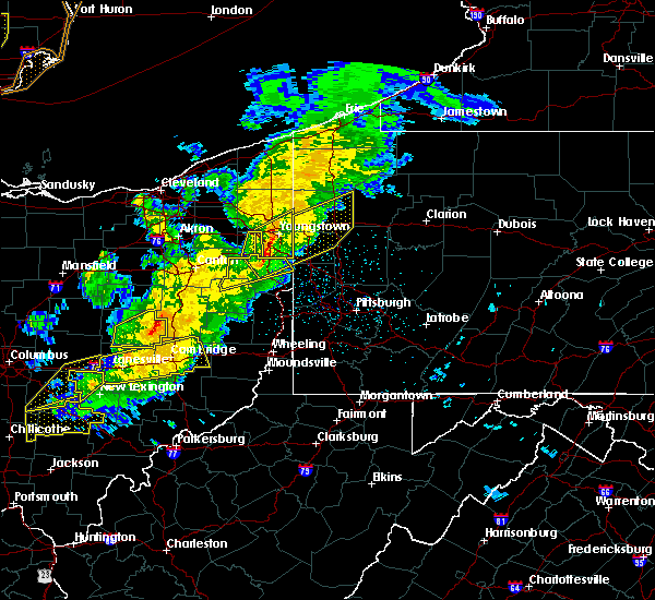 Radar Image for Severe Thunderstorms near West Pittsburg, PA at 3/14/2019 9:01 PM EDT