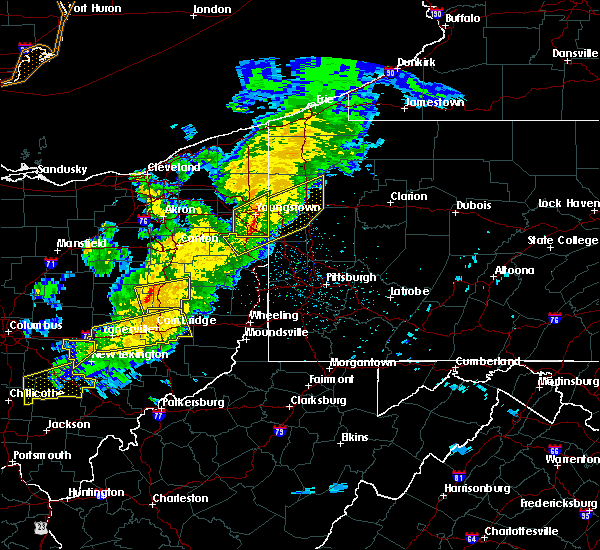 Radar Image for Severe Thunderstorms near Plainfield, OH at 3/14/2019 9:05 PM EDT