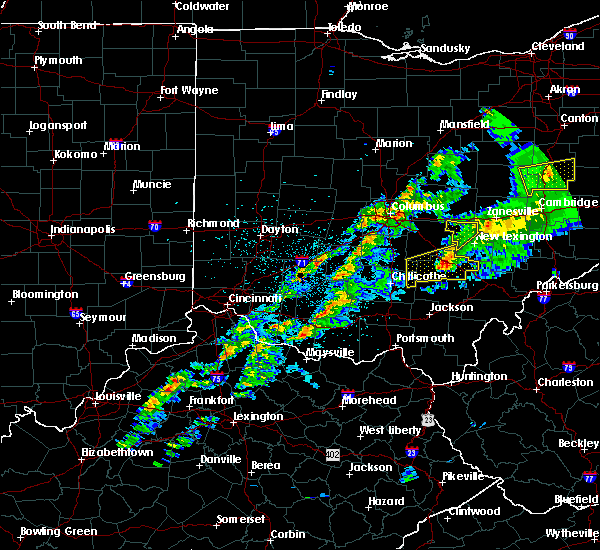 Radar Image for Severe Thunderstorms near Logan, OH at 3/14/2019 9:17 PM EDT