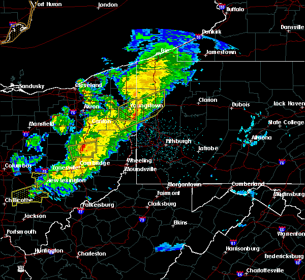Radar Image for Severe Thunderstorms near West Pittsburg, PA at 3/14/2019 9:17 PM EDT