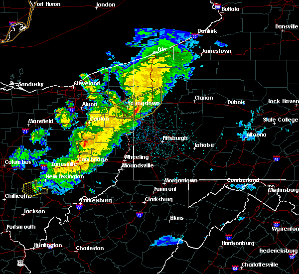 Radar Image for Severe Thunderstorms near Uhrichsville, OH at 3/14/2019 9:20 PM EDT