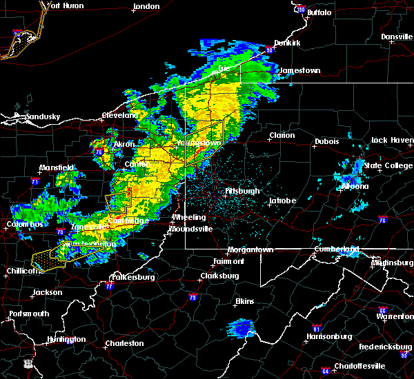 Radar Image for Severe Thunderstorms near West Pittsburg, PA at 3/14/2019 9:30 PM EDT