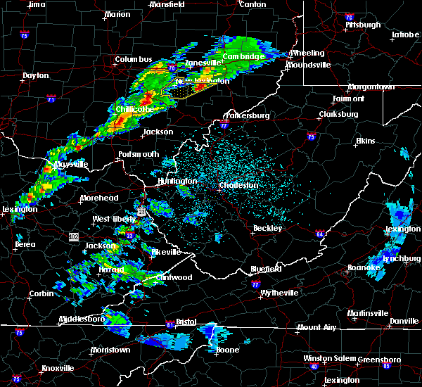 Radar Image for Severe Thunderstorms near McConnelsville, OH at 3/14/2019 11:07 PM EDT