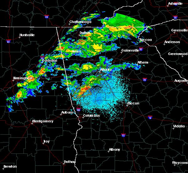 Radar Image for Severe Thunderstorms near Lone Oak, GA at 3/15/2019 1:12 AM EDT