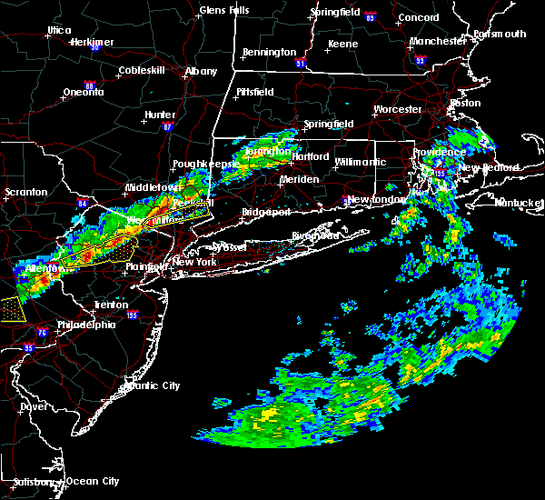 Radar Image for Severe Thunderstorms near Ringwood, NJ at 3/15/2019 7:24 PM EDT
