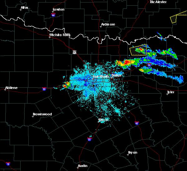 Radar Image for Severe Thunderstorms near Honey Grove, TX at 3/24/2019 8:35 PM CDT
