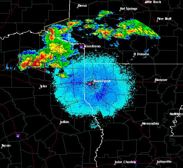 Radar Image for Severe Thunderstorms near Winnsboro, TX at 3/25/2019 12:52 AM CDT