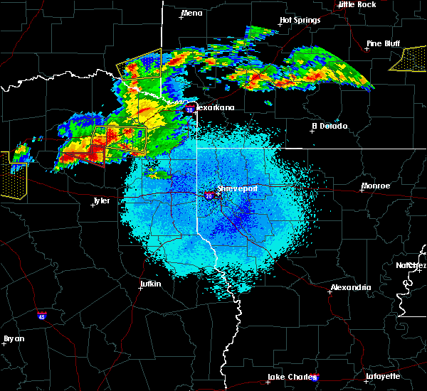 Radar Image for Severe Thunderstorms near Winnsboro, TX at 3/25/2019 1:06 AM CDT