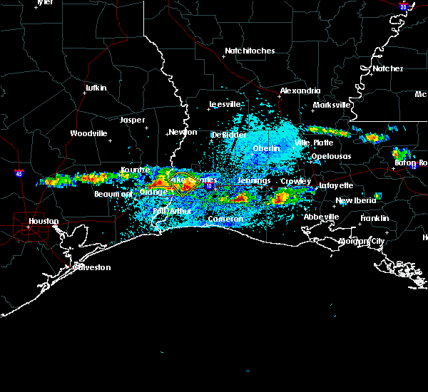 Radar Image for Severe Thunderstorms near Lake Charles, LA at 3/25/2019 3:30 PM CDT
